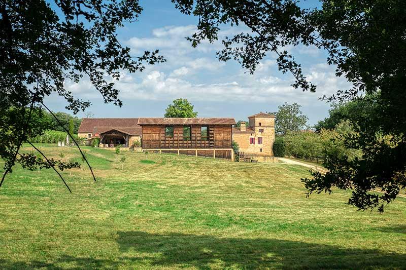 Nouvel espace de dégustation du Domaine de Bonaguil - Vin IGP Côtes du Lot