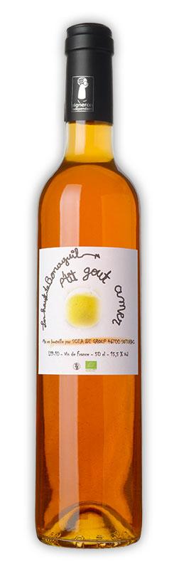 Les Hauts de Bonaguil, P'tit gout amer, vin orange, Chardonnay sauvignon - Vin IGP Côtes du Lot