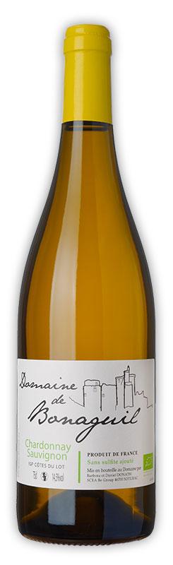 Domaine de Bonaguil, vin blanc, chardonnay et sauvignon - Vin IGP Côtes du Lot